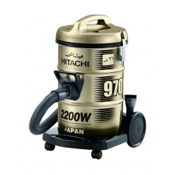 Hitachi 2200W 21L Drum Vacuum Cleaner (CV-970Y) – Gold