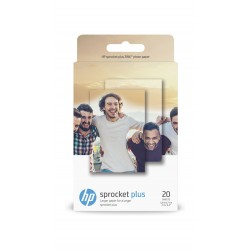 Hewlett Packard Sticky-backed Photo Paper - 20 sheets