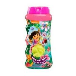 Cartoon Network Dora Shower Gel & Bath Puff