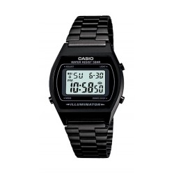Casio Iluminator 35mm Gent's Metal Digital Watch - (B640WB-1ADF)