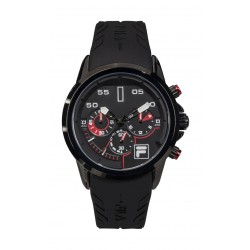 FILA 45mm Chronograph Rubber Watch - 38168101