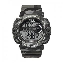 Fila 52mm Men Digital Rubber Sports Watch (38-171-002) - Camo