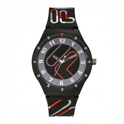 Fila 44mm Unisex Analog Casual Rubber Watch - (38-324-004)