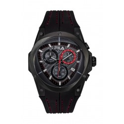 FILA 51mm Chronograph Gents Leather Watch - 38821004