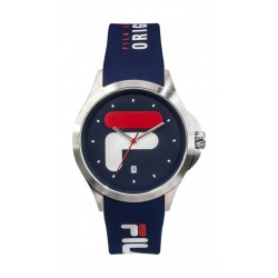 Fila 40mm Unisex Analogue Rubber Sports Watch (38181002) - Navy Blue