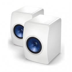 KEF LS50 Pair Front View