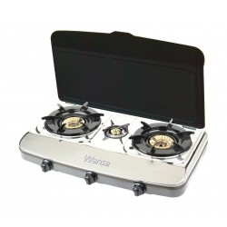 Wansa Gas Cooker 3 Burner - 5218DSC
