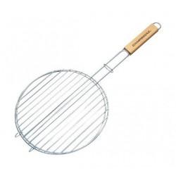 Campingaz Round Double Grid Basket Single Wooden Handle