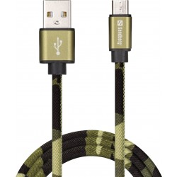 Sandberg Micro-USB Green Camouflage 1M (441-15)