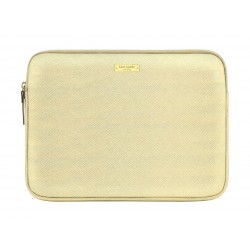 Kate Spade New York Saffiano Laptop Sleeve for 13-inch MacBooks - Gold