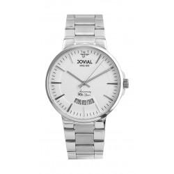 Jovial 41mm Analog Gent's Metal Watch - (4772-GSMQ-01)