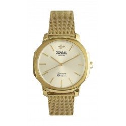 Jovial 42mm Analog Gent's Fashion Metal Watch - (4773-GGMQ-01 )