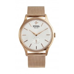 Jovial 41mm Analog Gent's Fashion Metal Watch - (4774-GRMQ-01)