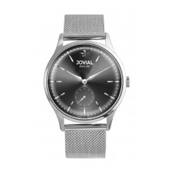 Jovial 41mm Analog Gent's Fashion Metal Watch - (4774-GSMQ-03)