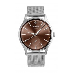 Jovial 41mm Analog Gent's Fashion Metal Watch - (4774-GSMQ-10)