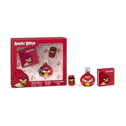 Cartoon Network Angry Birds Red For Kids 50ML Eau De Toilette + Notebook + Tag + Chain