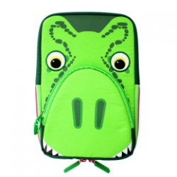 TabZoo Universal Tablet Sleeve with Built-in Stand and Earphone Cable Tidy for 7-8 tablets T-Rex