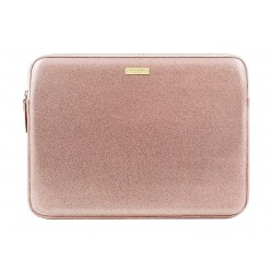 MacBook 13-inch Kate Spade Glitter Sleeve Case - Rose Gold