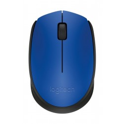 Logitech M171 Optical Wireless Mouse - Blue