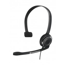 Sennheiser PC 7 Mono USB Over-Head Wired Headset with Mic - Black