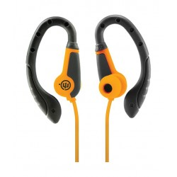 Wicked Fight Over-ear Wired Earphone with Microphone - Tiger Orange