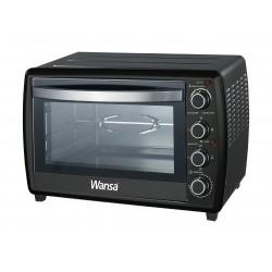 Wansa 2200W 70L Electric Oven (KR-K66RCL-9SKH) – Black