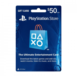 Sony Playstation Gift Card - $50