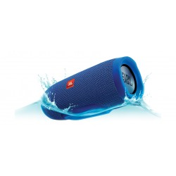 JBL Charge 3 Splash Proof Bluetooth Wireless Portable Speaker - Blue
