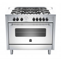 La Germania 100x60 cm 5-Burner Free-Standing Gas Cooker (AMS105C81BX) - Stainless Steel