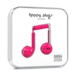 Happy Plugs Earbud Earphones - Pink