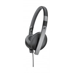 Sennheiser HD2.30i On-ear Stereo Wired Headphones with Microphone/Remote for iOs - Black