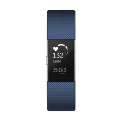 Fitbit Charge 2 Fitness Tracker (Small) – Black Gunmetal