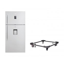 Beko 25 Cft. Top Mount Refrigerator + Stand For Refrigerator With Large Wheels