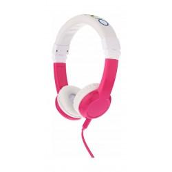 Onanoff BuddyPhones Explore Foldable Headphone with Mic - Pink