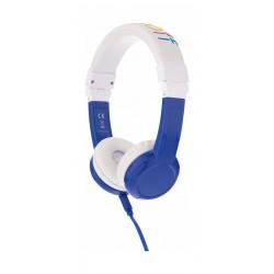 Onanoff BuddyPhones Explore Foldable Headphone with Mic - Blue
