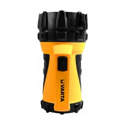 Varta LED Industrial Beam Lantern 4D Handlamp Flashlight (17652101111) - Yellow