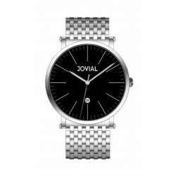 JOVIAL 5111-GSMQ-03 Gents Watch - Metal Strap