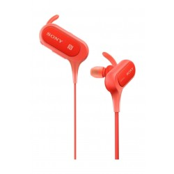 Sony Extra Bass Sports Wireless In-Ear Headphone (MDR-XB50BSBZE) - Red