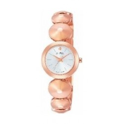 Alba Ladies Fashion Analog 22.5 mm Metal Watch (AH8358X1) - Rose Gold