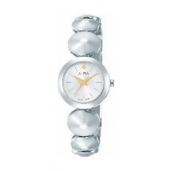 Alba Ladies Fashion Analog 22.5 mm Metal Watch (AH8365X1) - Silver