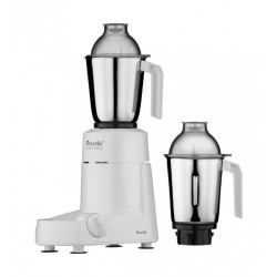 Preethi MG12808 Chef Pro Mixer Grinder Stainless Steel - Front View