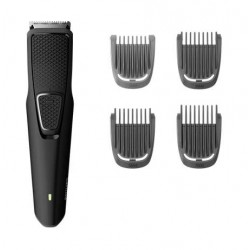 Philips Series 1000 Cordless Beard Trimmer (BT1214/15) - Black
