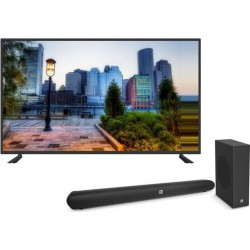 Wansa 55 inch Full HD Smart LED TV + JBL Cinema SB150 Bluetooth 150W Soundbar System