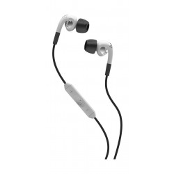 Skullcandy Fix Wired Earbud Headphones with Mic - White (S2FXFW-075)