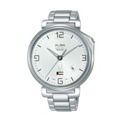 Alba 43mm Analog Gent's Metal Watch Kuwait Flag - AS9H49X1