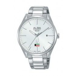 Alba 41mm Analog Gent's Metal Watch - AS9H51X1