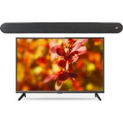 Wansa 50 inch 4K Ultra HD Smart LED TV + Polk Audio Signa Solo Wireless Soundbar