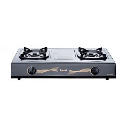 Rinnai 2 Burners Basic Gas Stove (RI-522SC) - Grey