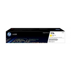 HP 117A Original Laser Toner Cartridge - Yellow