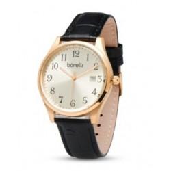 Borilli 39m Gent's Leather Analog Watch - (20050051)